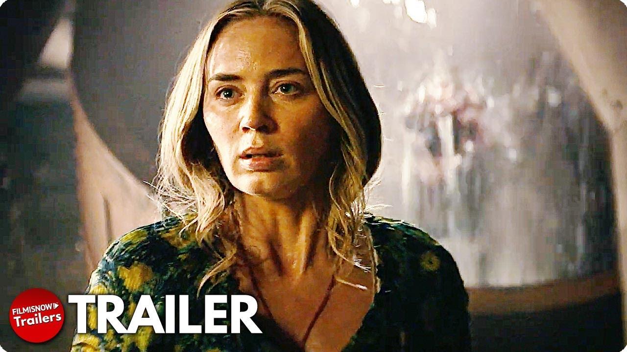A QUIET PLACE PART II Final Trailer (2021) Emily Blunt Horror Movie