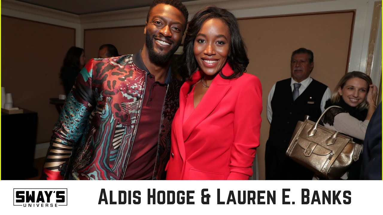 Aldis Hodge and Lauren E. Banks Talk New Season of 'City On A Hill' on Showtime | Sway's Universe