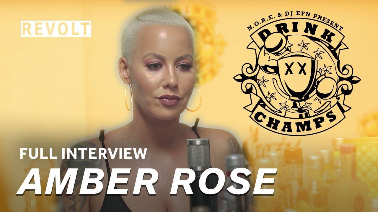 Amber Rose | Drink Champs (Full Episode)