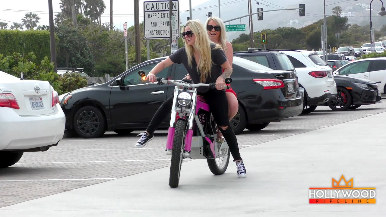 Avril Lavigne Takes a Ride down Struggle Street on Hot Pink Electric Bike — It's Complicated!