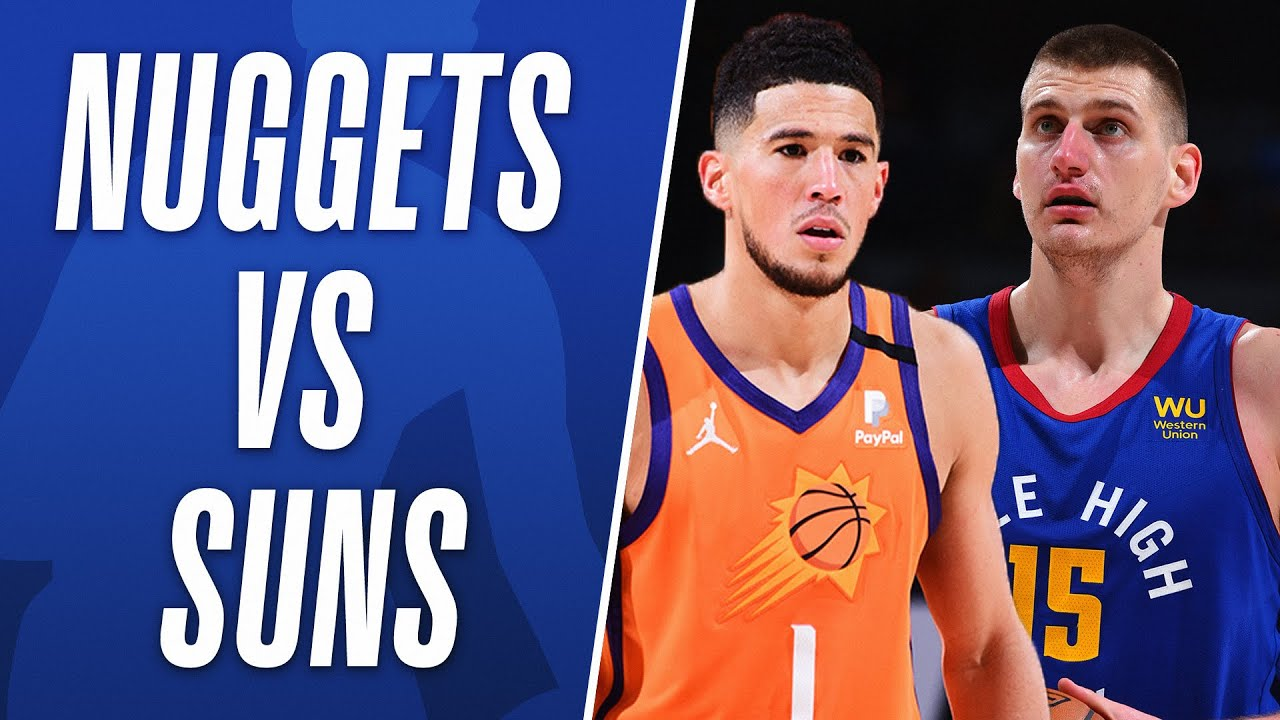 Best Moments From Sun vs Nuggets Season Series! 📺
