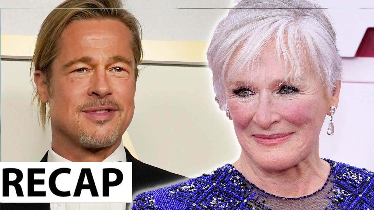 Brad Pitt Dissed & Glenn Close Twerks To 'Da Butt' – 2021 Oscar Recap