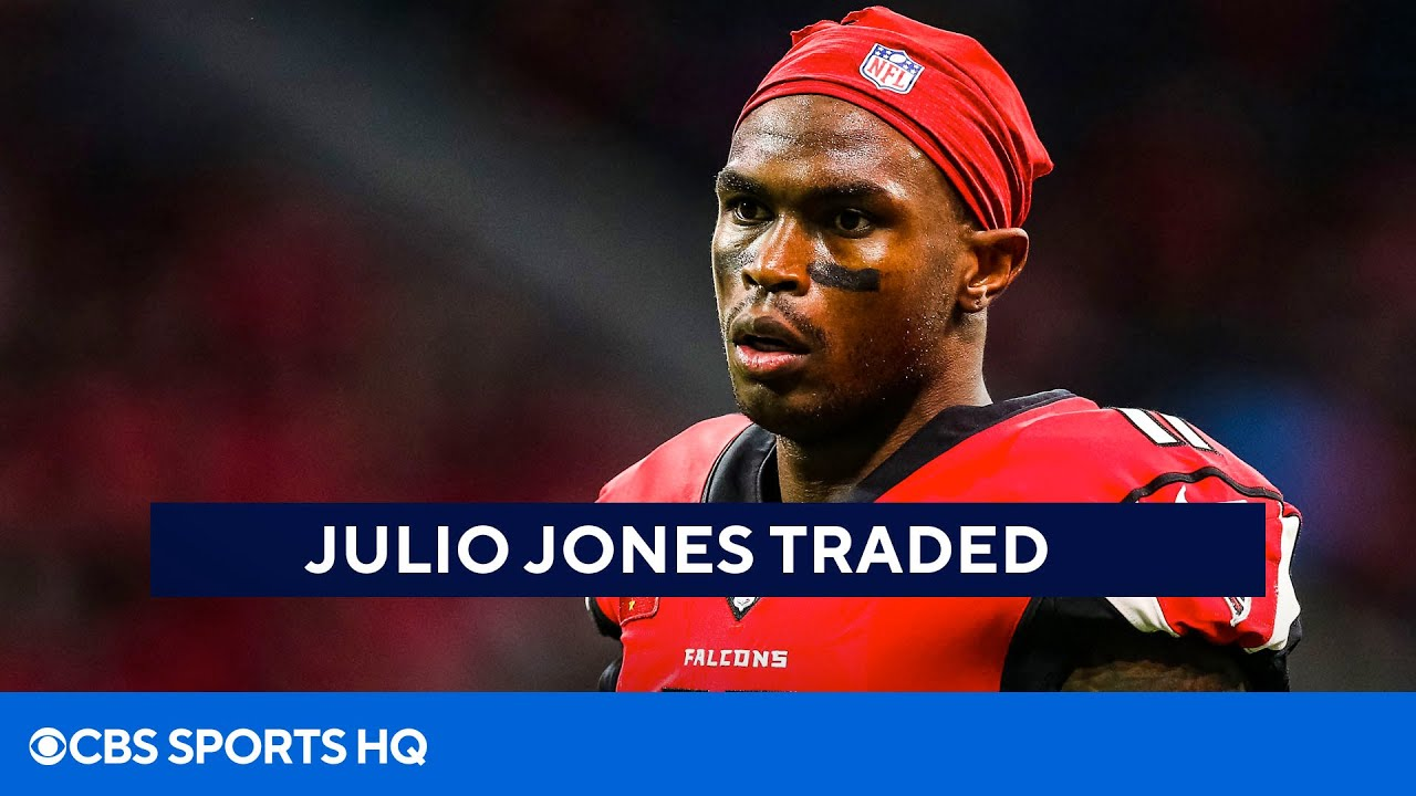 BREAKING: Julio Jones Traded to the Tennessee Titans   CBS Sports HQ