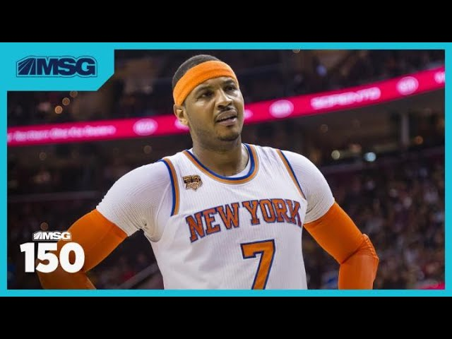 Carmelo Anthony Not on Top 74 NBA Players of All Time List? | The MSG 150 Crew Is Fired Up