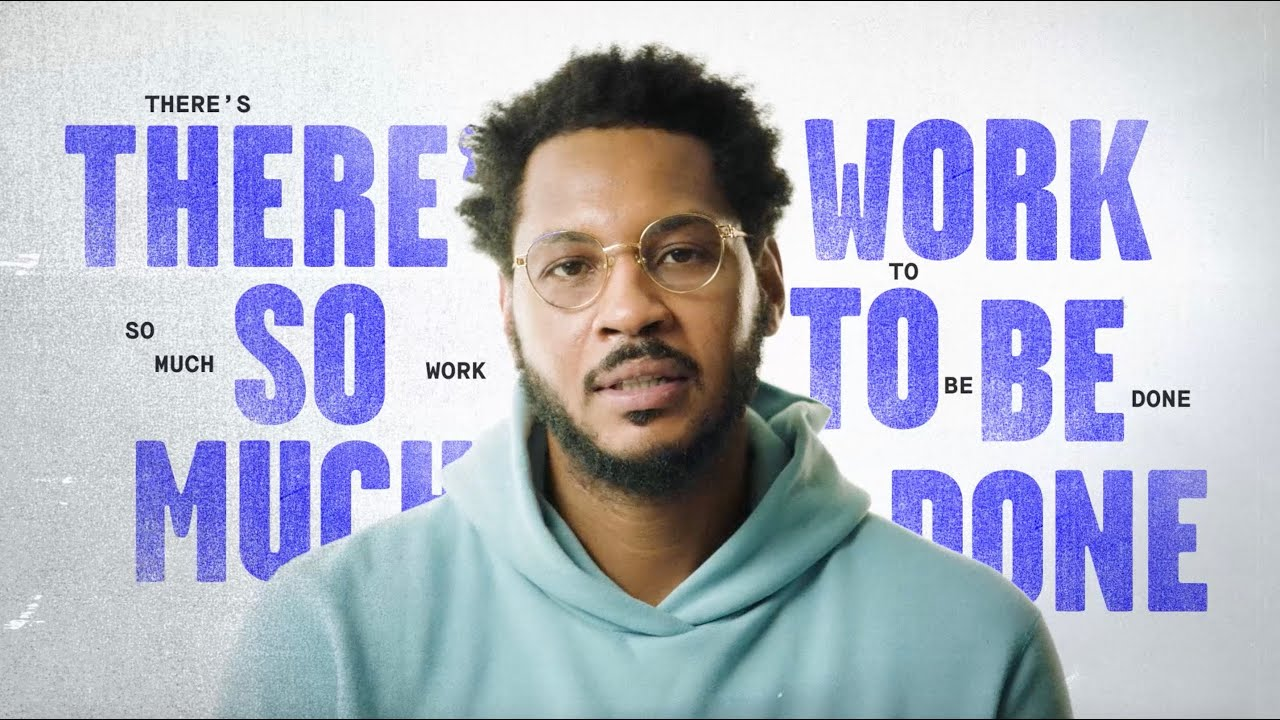 Carmelo Anthony's Message To 2020 & Beyond | SINCERELY YOURS