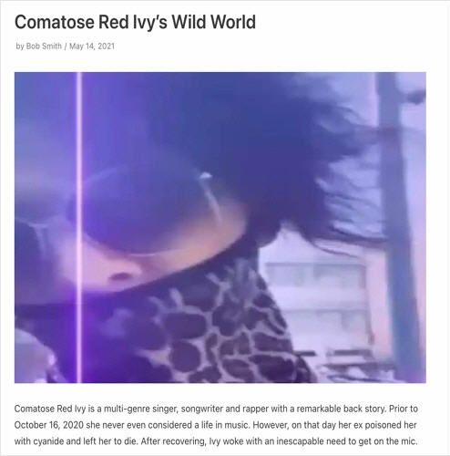 Comatose Red Ivy – HOW TO MAKE F*GGOT LIL WAYNE SONG x CINCINNATI COURTHOUSE FREESTYLE [Audio]