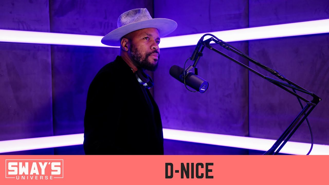D-Nice on The Rise of Club Quarantine, Praise from Jay-Z and New Music | SWAY'S UNIVERSE