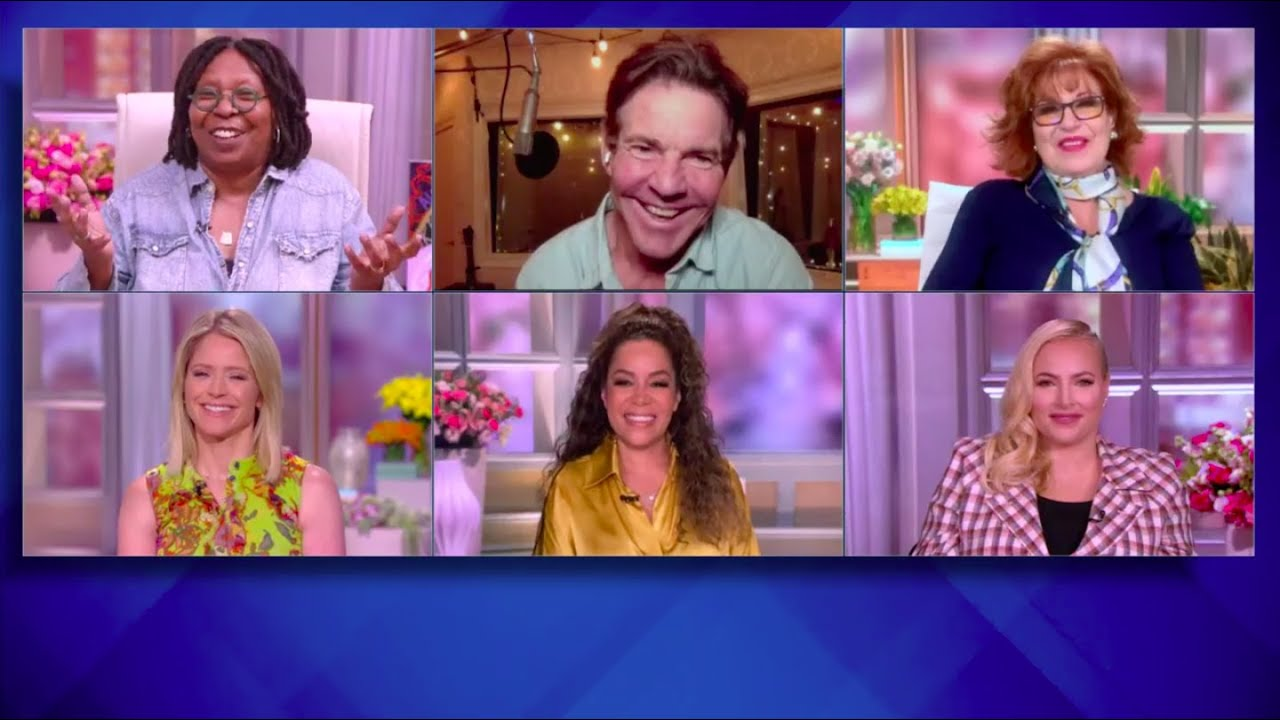 """Dennis Quaid Shares Joys of Playing Ronald Reagan and the True Story of """"Blue Miracle""""   The View"""
