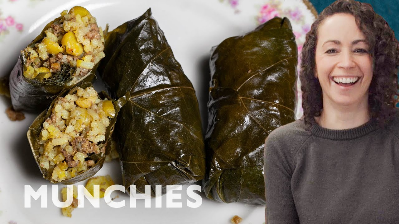 Dolmeh Barg Mo – Iranian Stuffed Grape Leaves | The Cooking Show