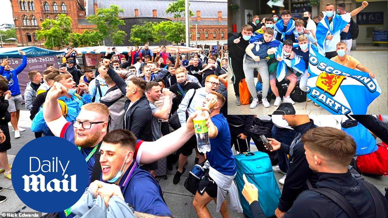England vs Scotland: Tartan army invades London for Euro 2020 Wembley clash on Friday