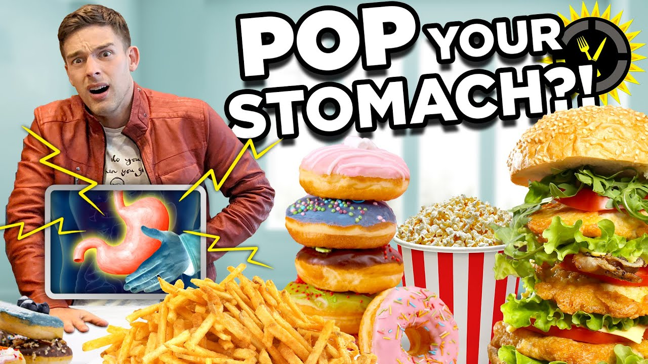 Food Theory: Can Eating Too Much POP Your Stomach?