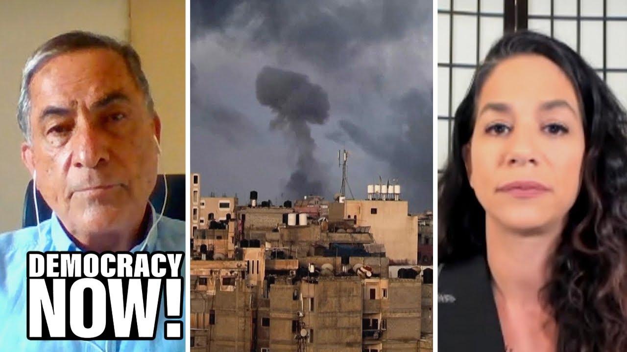 Gideon Levy & Noura Erakat on Israel's Gaza Assault, U.S. Complicity and Ending the Occupation