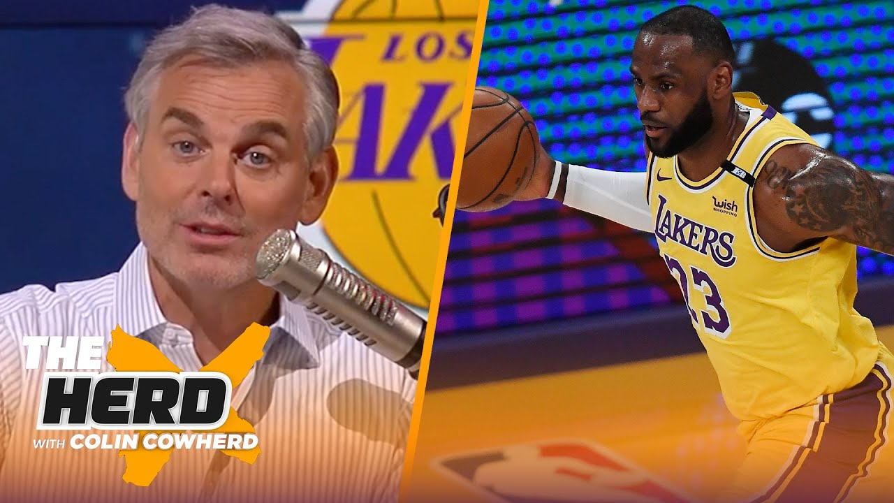 'Give LeBron credit for game-winning shot' — Colin on Lakers' win vs. Warriors   NBA   THE HERD