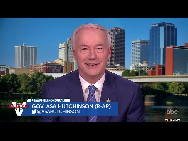 Gov. Asa Hutchinson on Restrictive Voting and Abortion Laws in Arkansas  | The View