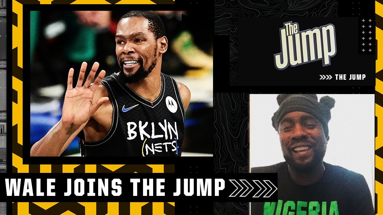 ⌚'It's his time' – Wale on Kevin Durant 'bouncing back and playing out of his mind' 🤯| The Jump