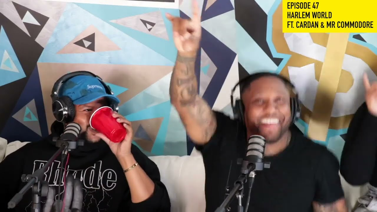 KITCHEN TALK – EP47 RAPPER CARDAN OF HARLEM WORLD TALKS MASE, NELLY AND MR COMMODORE CRASHES THE SET