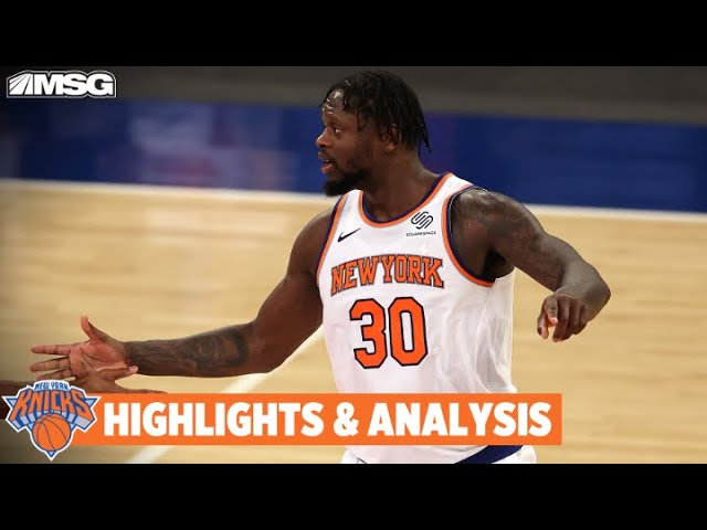 Knicks Take Down Hornets 118-109 In OT | New York Knicks
