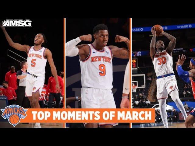 Knicks' Top Five Moments of March 2021 | New York Knicks
