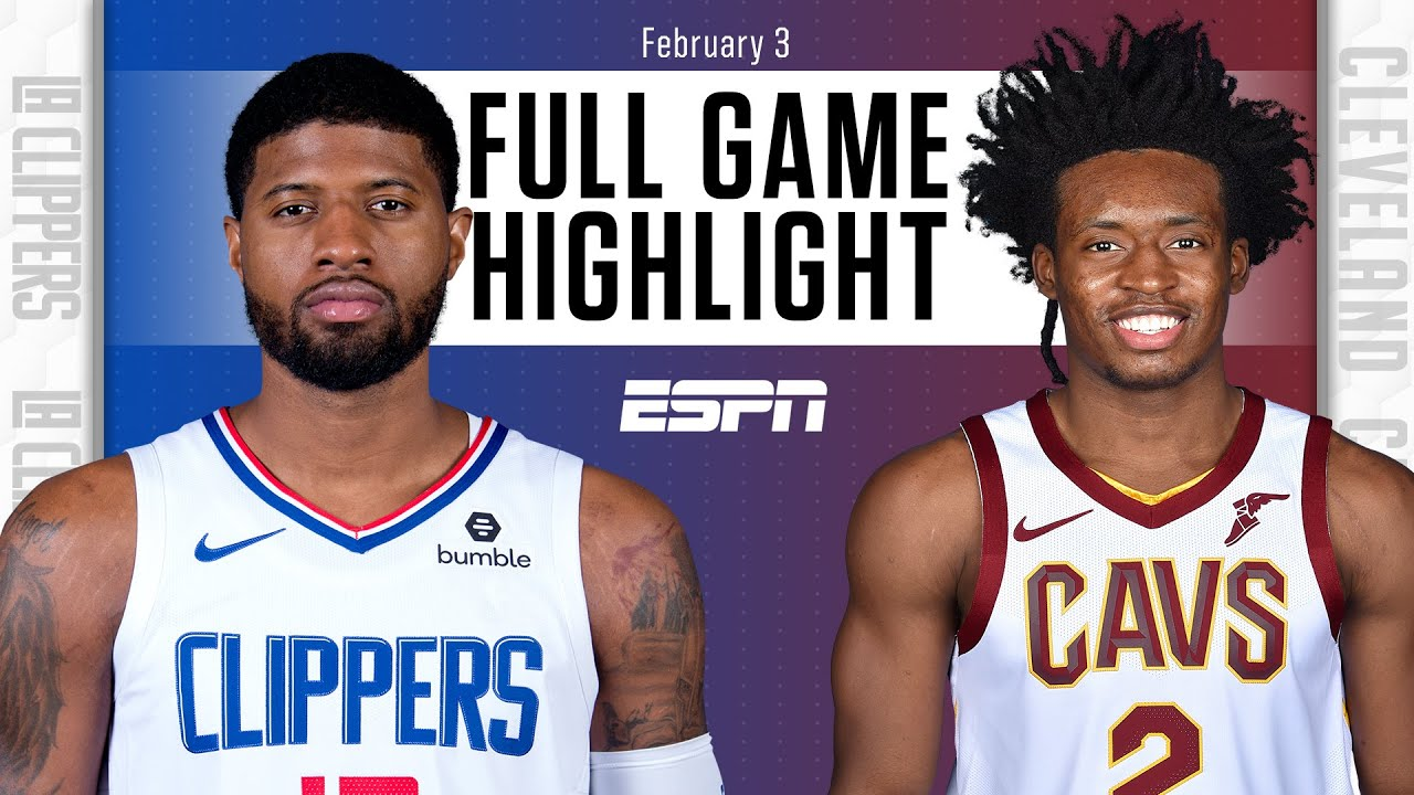 LA Clippers vs. Cleveland Cavaliers [FULL GAME HIGHLIGHTS] | NBA on ESPN