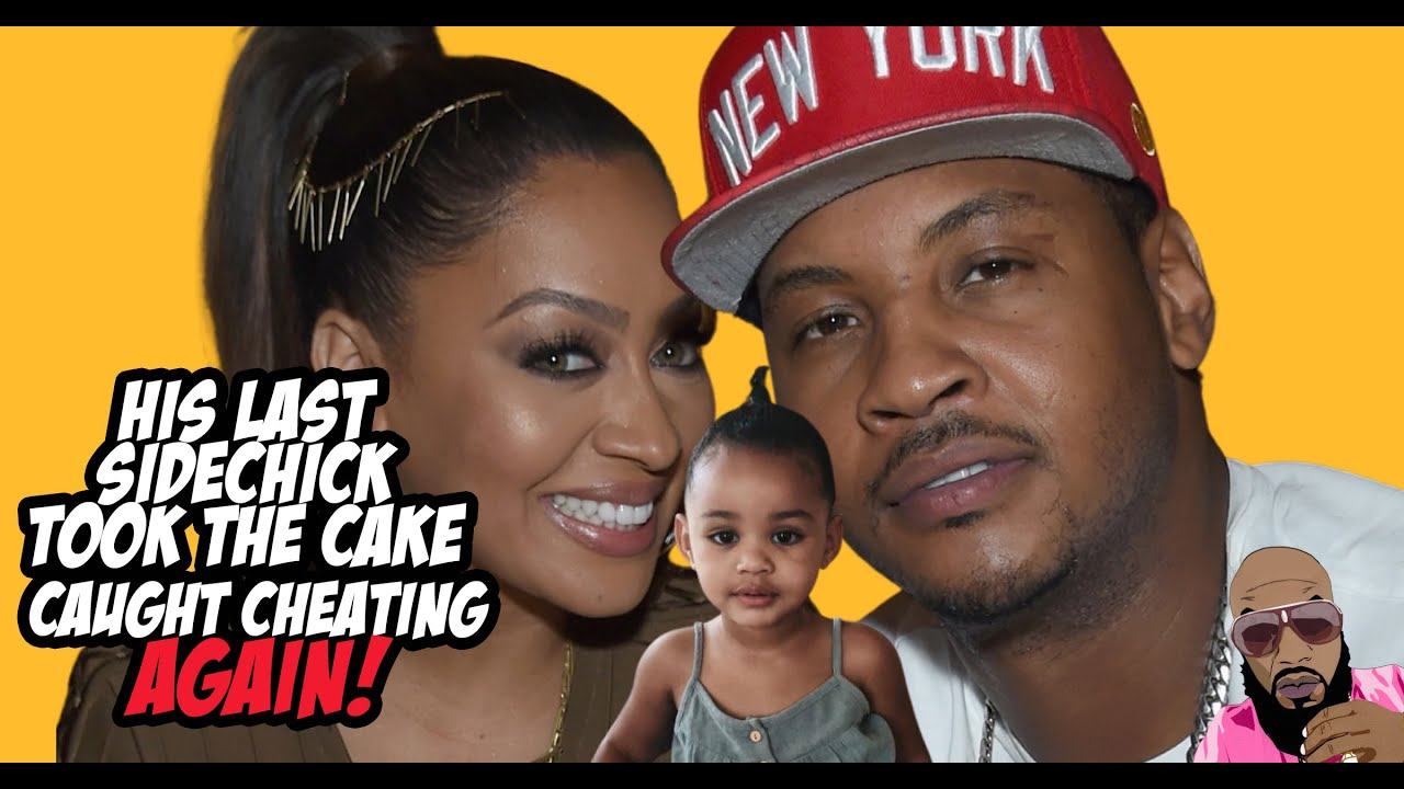 La La Anthony Is Filing For Divorce From Carmelo Anthony! She Caught Him Again!