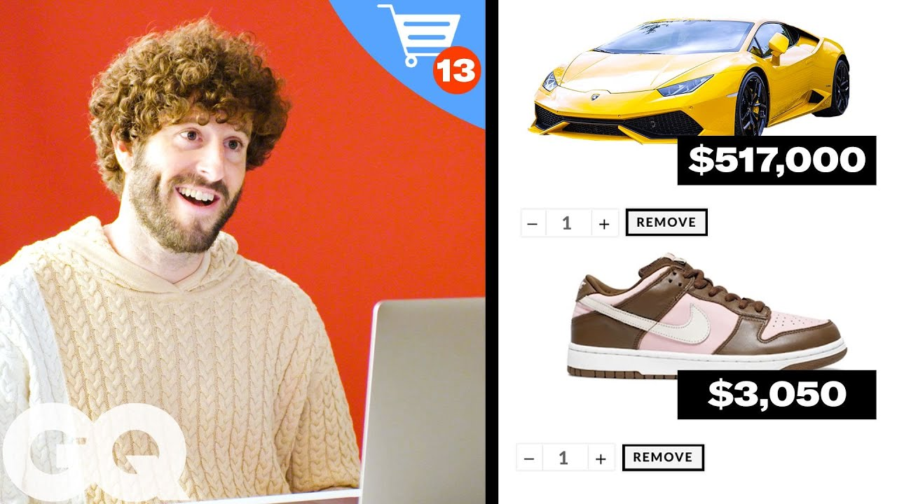 Lil Dicky's $572,090 Shopping Spree   GQ