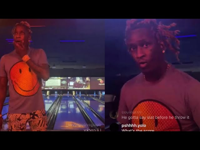 Lil Yachty Druski ROAST Young Thug For Bowling Terribly