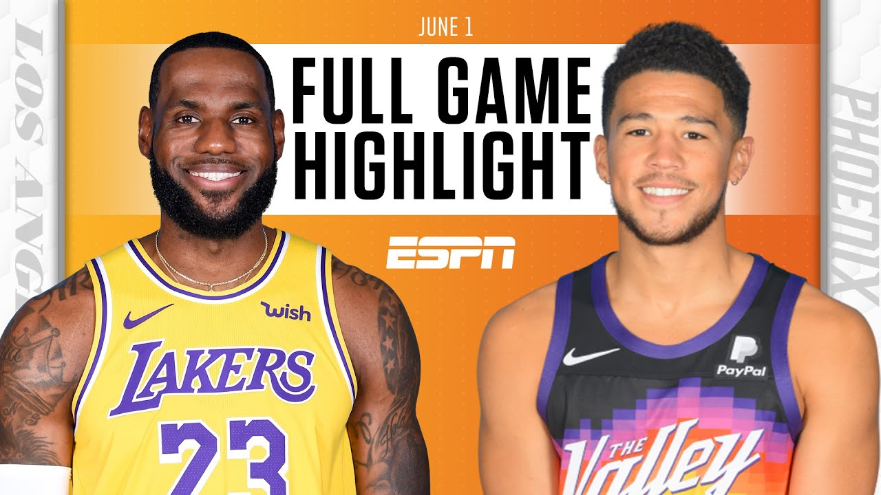 Los Angeles Lakers at Phoenix Suns | Full Game Highlights