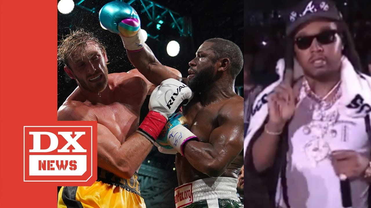 Migos Get Disrespected At Floyd Mayweather v Logan Paul Fight?
