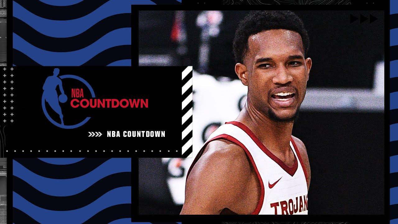 NBA Draft prospect Evan Mobley joins NBA Countdown ahead of the NBA Draft Lottery | NBA Countdown