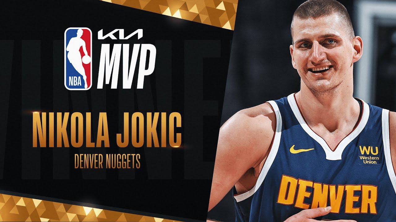 Nikola Jokic Wins #KiaMVP Most Valuable Player! | 2020-21 NBA Season