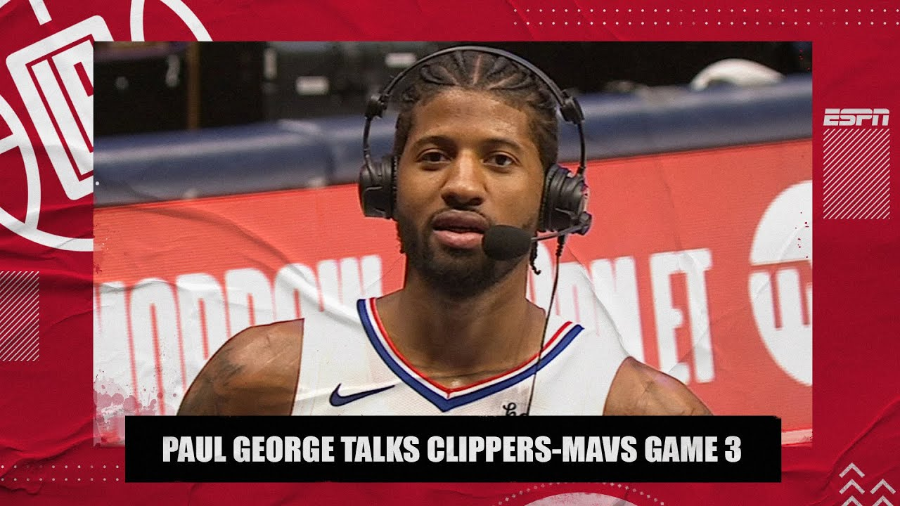 Paul George on the Clippers' Game 3 win vs. the Mavericks | SC with SVP