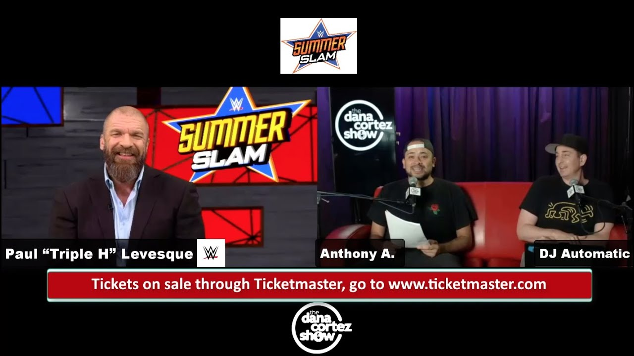 "Paul ""Triple H"" Levesque talks SummerSlam, John Cena's return, Bad Bunny's WWE future, and more"
