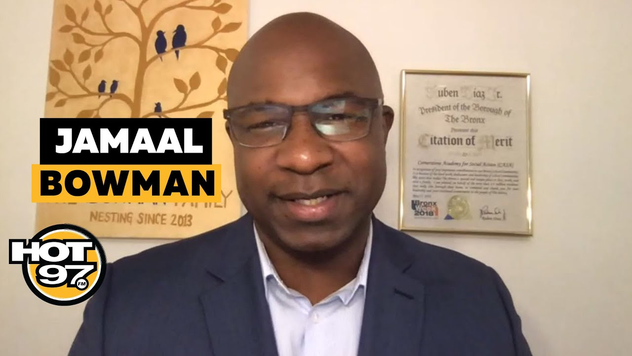 Rep. Jamaal Bowman Keeps It REAL On US Capitol Riots + Calls For Trump To Be Removed As President