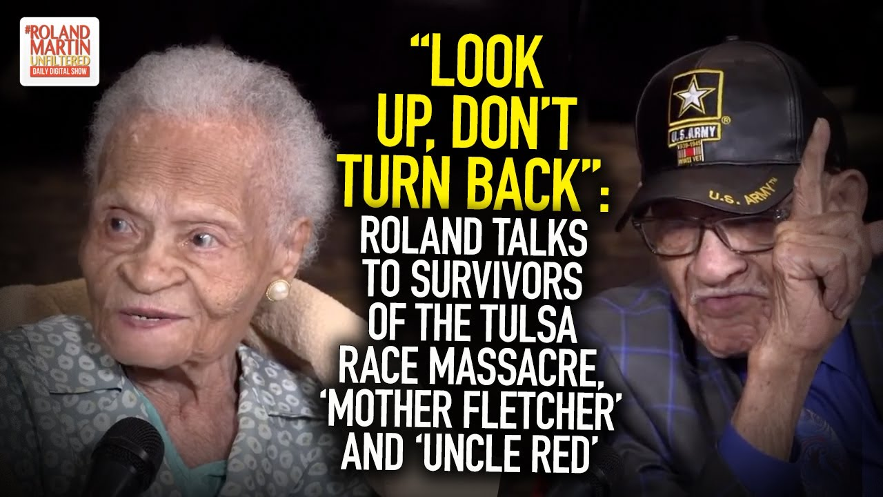 Roland Talks To Survivors Of The Tulsa Race Massacre, 'Mother Fletcher' And 'Uncle Red'