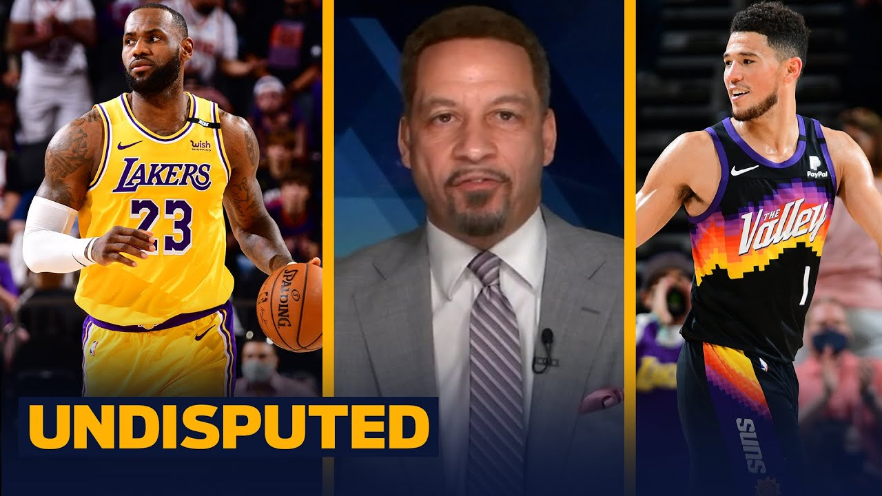 The Suns still have life despite the Lakers' Game 2 win — Chris Broussard | NBA | UNDISPUTED