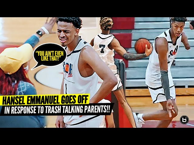 They Were TALKING TRASH To High Schoolers! Hansel Emmanuel Responds By Going OFF w/ ONE ARM!