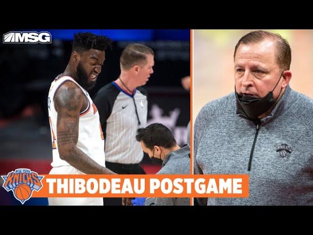 Thibs Proud of Knicks' Bench & Updates on Pelle's Finger   New York Knicks