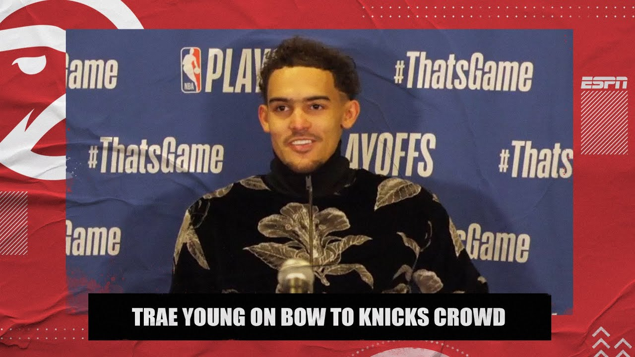Trae Young on taking a bow at MSG – 'I know what they do when the show is over' 🎭 🍿| NBA on ESPN
