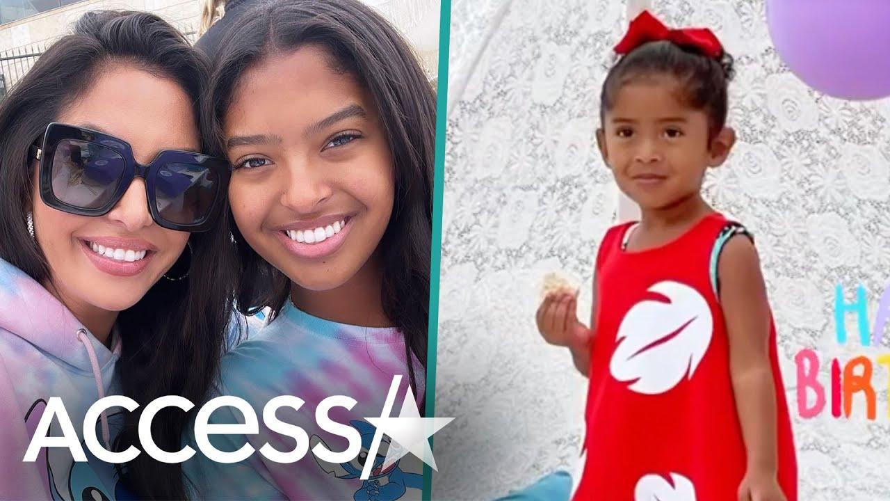 Vanessa Bryant Celebrates Daughter Capri's 2nd Birthday