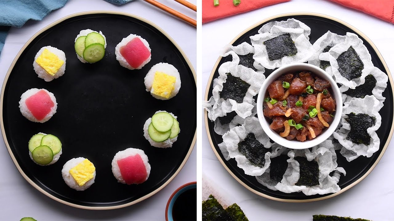 10 Clever Rice Hacks for Your at Home Sushi Night!!! So Yummy