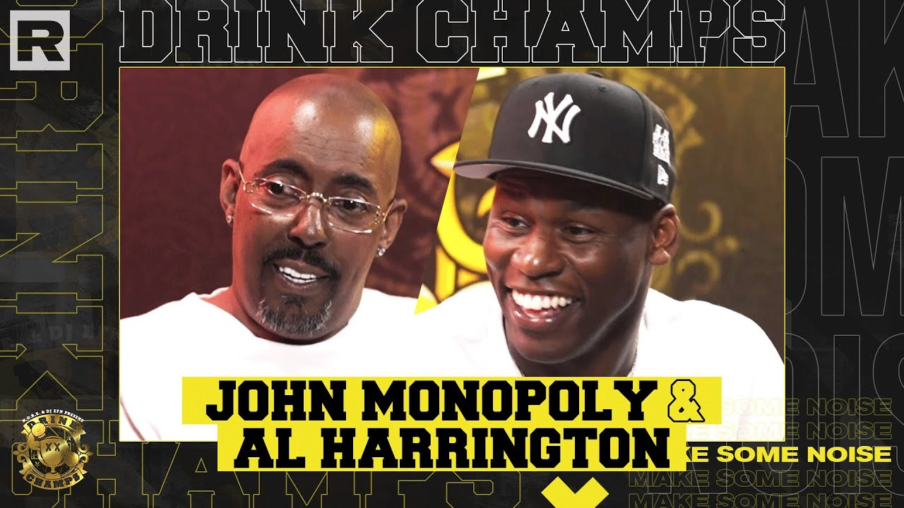 Al Harrington & John Monopoly On Viola, Battling Michael Jordan, Chris Lighty & More   Drink Champs