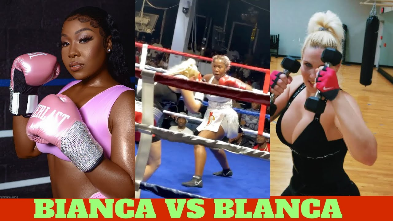 BIANCA FROM LOVE & HIP HOP VS BLANCA FROM LOVE & HIP HOP BOXING MATCH