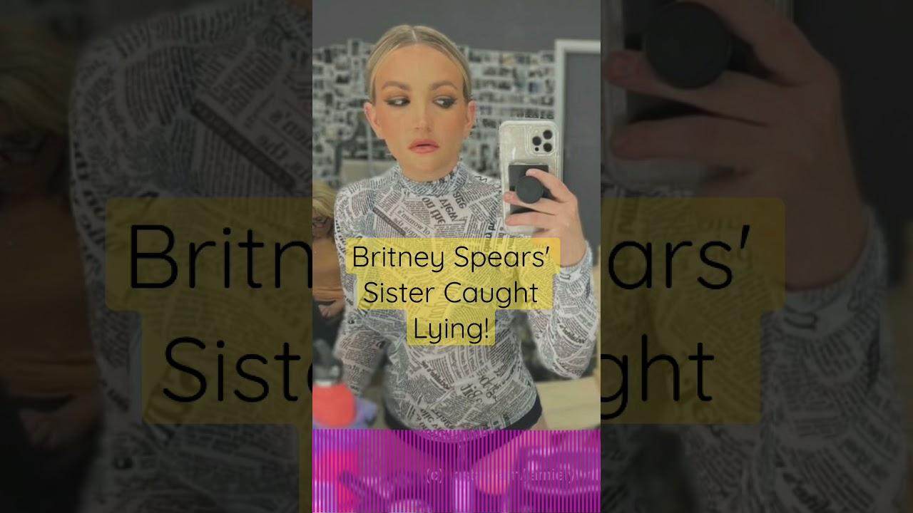 Britney Spears' Sister Caught Lying! | Perez Hilton