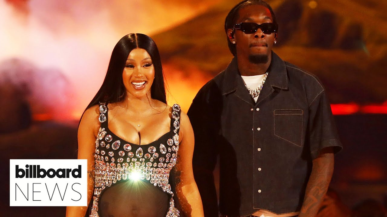Cardi B Reveals She's Expecting Her Second Child at BET Awards I Billboard News