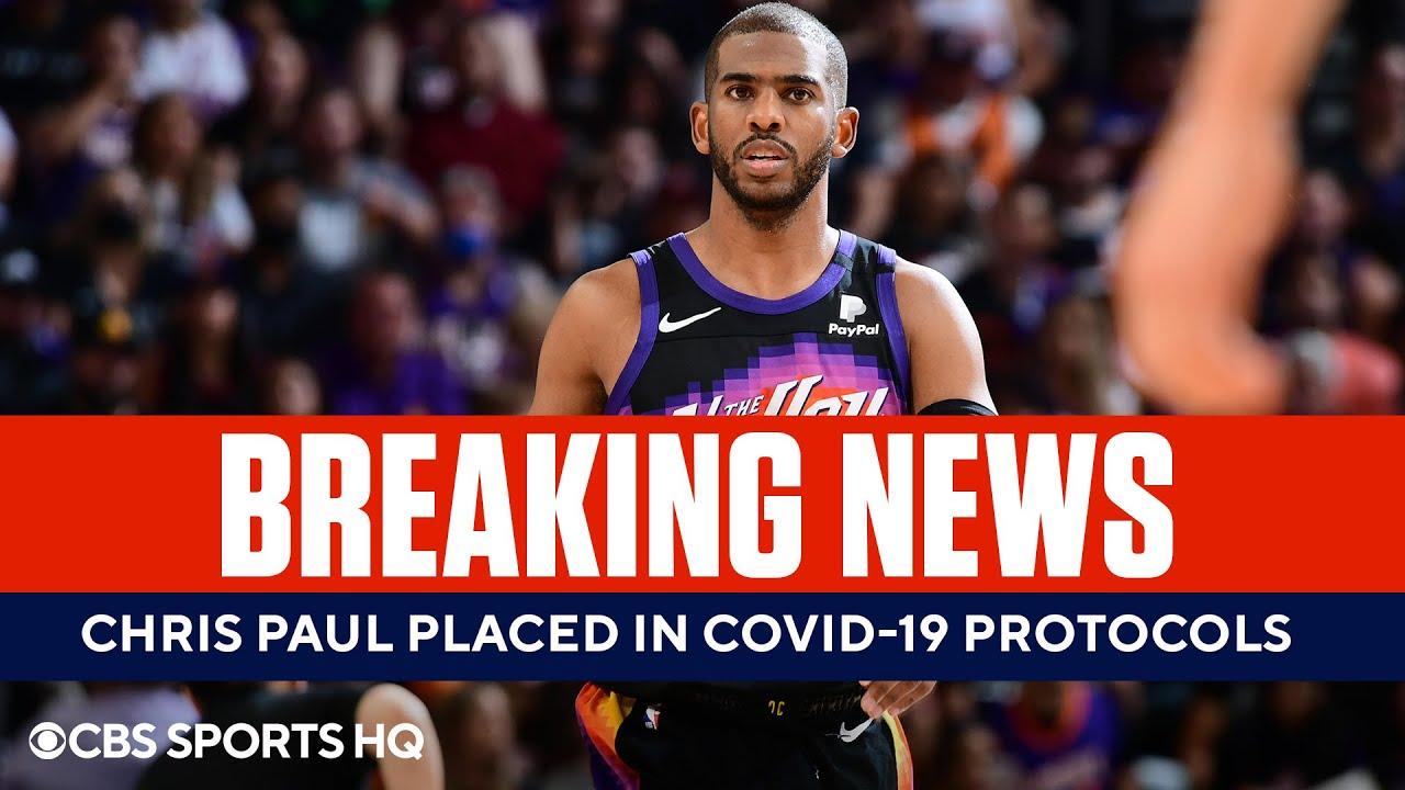 Chris Paul Enters NBA's COVID-19 Health & Safety Protocols   CBS Sports HQ