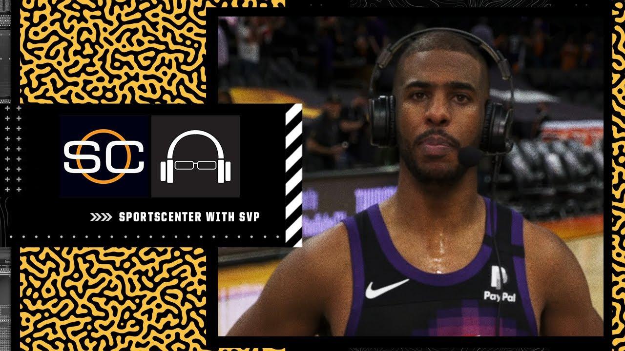 Chris Paul joins Scott Van Pelt following Suns' Game 1 #NBAFinals win | SC with SVP