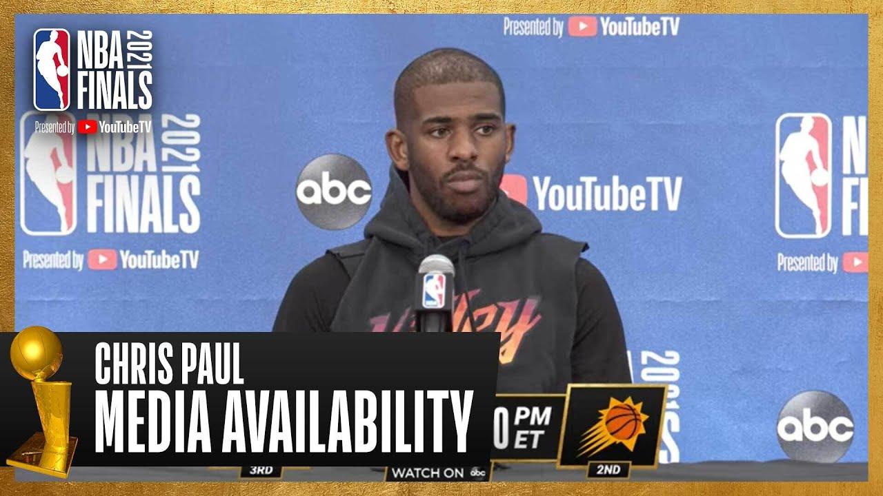 Chris Paul #NBAFinals Media Availability | July 5th, 2021