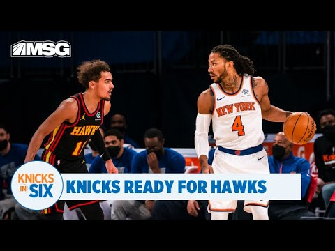Derrick Rose, Knicks Ready To Take on Trae Young, Hawks in Round 1 of NBA Playoffs