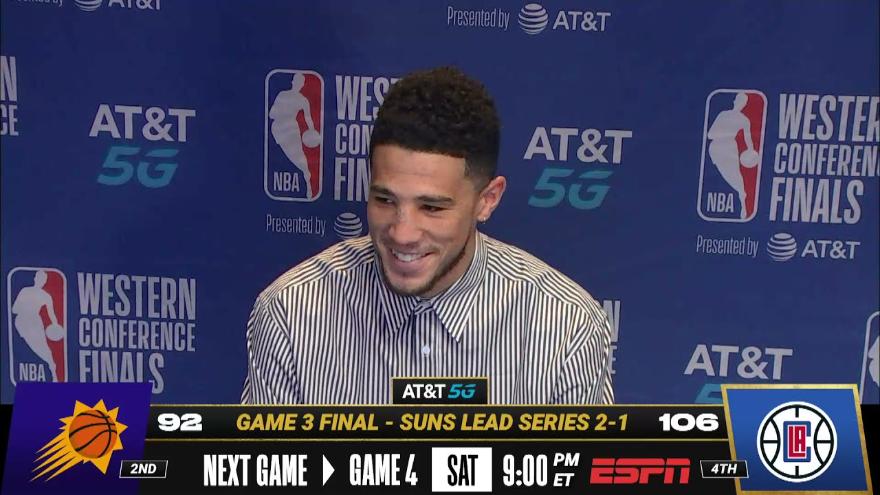 Devin Booker Speaks On Regrouping For Game 4! 🗣| Postgame Press Conference
