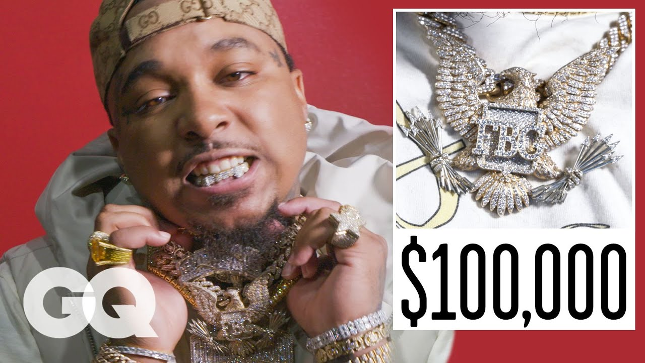 Doe Boy Shows Off His Insane Jewelry Collection | On the Rocks | GQ